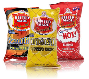 Better Made Chips available at Hollywood Super Markets