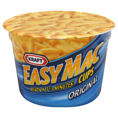 KRAFT Easy Mac Cups - Hollywood Markets