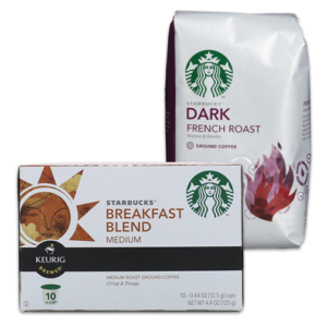 starbucks coffee kcups